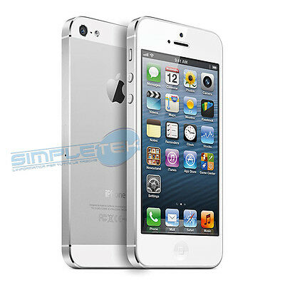 Apple Iphone 5 16Gb White Gradient A + Accessories Smartphone Reconditioned