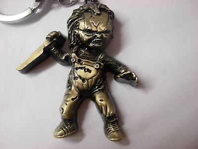 Seed of Chucky metal keyring. Nice large item. Ideal present