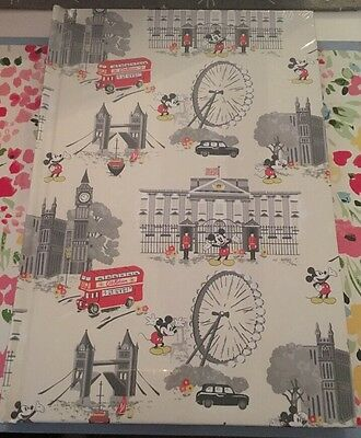 BN Sealed Cath Kidston Disney Mickey Mouse Hardback Note Book