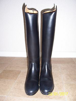Treadstone Size 8 Normal Long Leather Zip Riding Boots