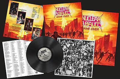 Nuclear Assault - Game Over LP #104561