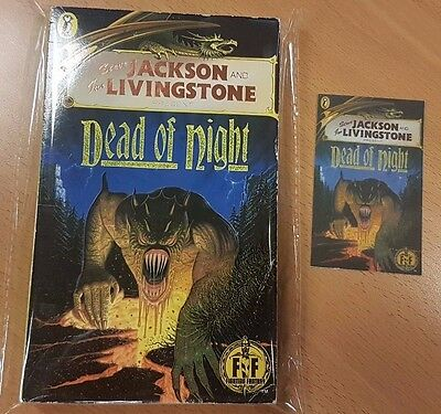 Dead of Night ***VGC GOLD FOIL!!*** Fighting Fantasy 40 Steve Jackson Puffin