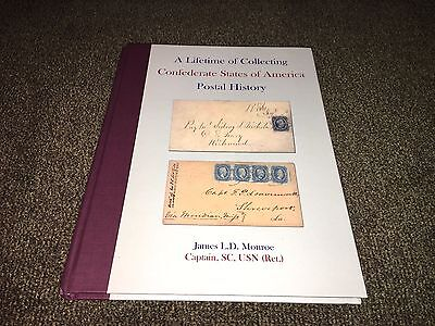A lifetime of collecting confederate states of america postal history Monroe