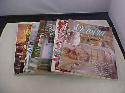 Victoria Magazines Back Issues 1995 Home Improvement Ideas Seven Total Issues