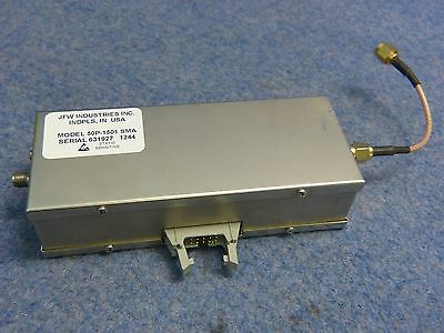 JFW Model 50P-1501 200-3000 MHz Solid State Programmable Attenuator