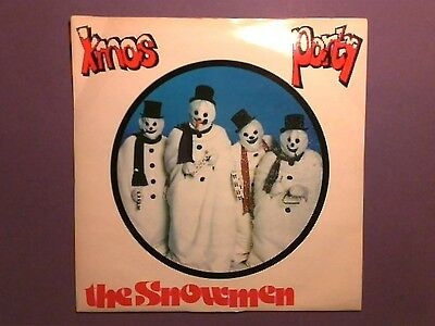 "The Snowmen - Xmas Party (7"" single) picture sleeve STOP 006"