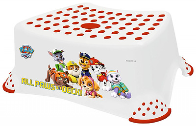 Nickelodeon Paw Patrol Step Stool with Non Slip Feet
