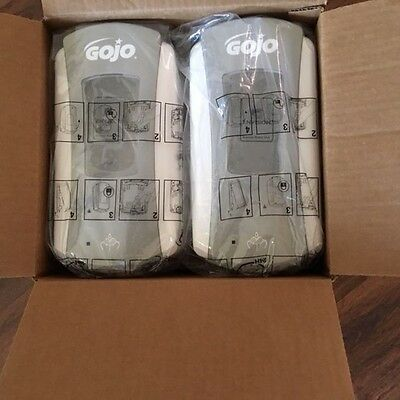 Gojo LTX 12 Touch Free Hand Soap Dispensers Case of 4