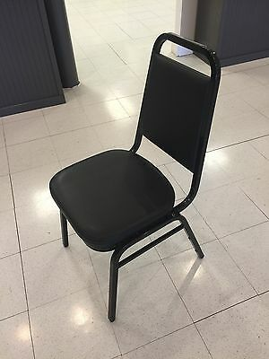 Black Restaurant Banquet Chairs - Lot Of 58