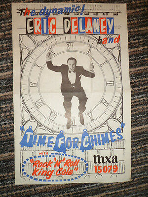 Original 1957 Record Store Poster ERIC DELANEY (DRUMMER)