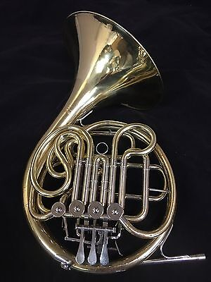 Yamaha YHR 567 Double French Horn w/ Original Used Case. New Mouthpiece