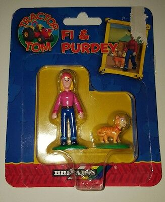 Britains Tractor Tom Fi & Purdey Figures New In Box 2003
