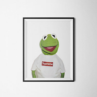 "Kermit Supreme Poster Print A3 13x17"". Discount W/ Other Posters"