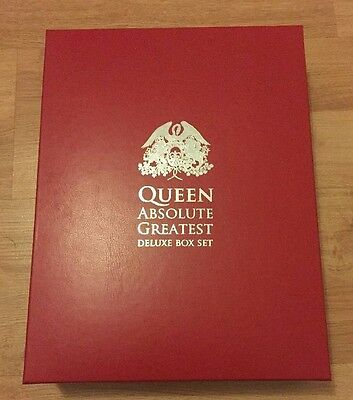 Queen Absolute Greatest Deluxe Box Set Limited 500 Copies Very Rare