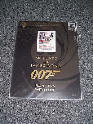 James Bond From Russia With Love Lobby Card Set Brand New 50 Years Of Bond