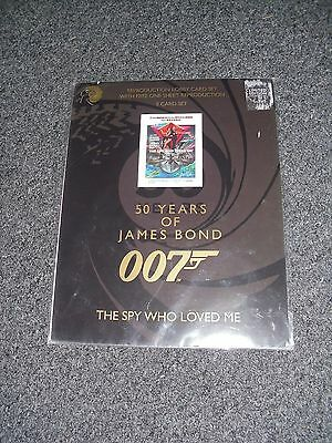 James Bond The Spy Who Loved Me Lobby Card Set Brand New 50 Years Of Bond