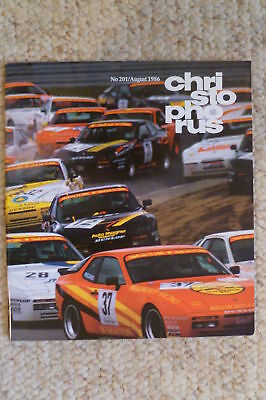 Porsche Christophorus Magazine English #201 August 1986 RARE!! Awesome L@@K