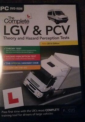 Hgv/pcv Theory Disc Including Book And Cpc Disc.