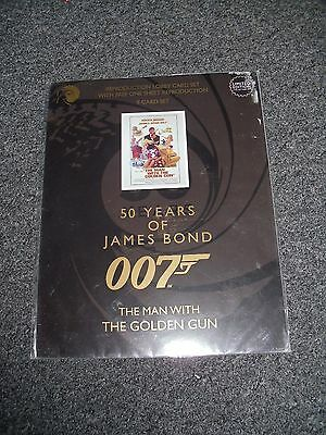 James Bond The Man With The Golden Gun Lobby Card Set Brand New 50 Years Of Bond