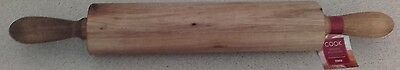 Acacia Wooden Rolling Pin BRAND NEW - FREE POSTAGE