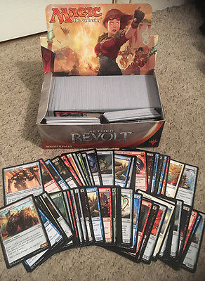 ~ Magic the Gathering - MTG Booster Box of 750+ Aether Revolt Common Cards Only