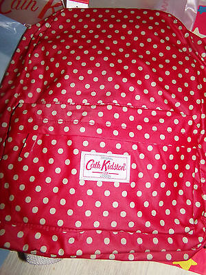 CATH KIDSTON SAC A DOS Back Pack BAG  rouge poids red New NEUF