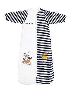 SlumberSafe Winter Baby Sleeping Bag Long Sleeves 3.5 Tog Pirate 12-36 mo.