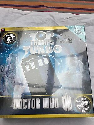 BN Sealed Dr Who Top Trumps Turbo