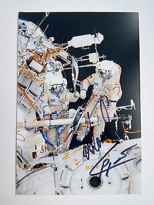2013 Olympic torch ISS Expedition 37 Soyuz TMA-10M signed photo astronauts games