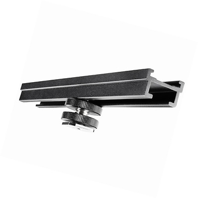 Walimex hot-shoe extension rail, 15 cm (with 1/4 inch thread clip-on foot)