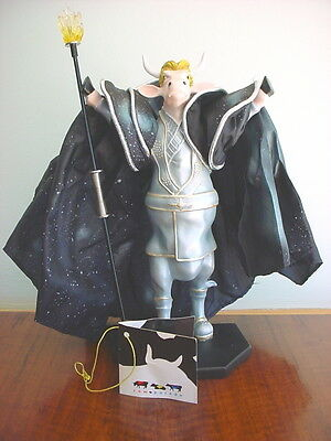 Large 2003 COW PARADE Figurine SIEGFRIED OF SIEGFRIED & ROY Retired #7280