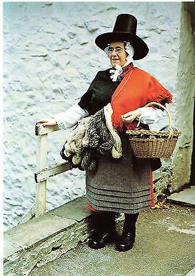 WOMEN'S INSTITUTE SERIES - 15 POSTCARDS -  TRADITIONAL WELSH COSTUMES (c.1980)