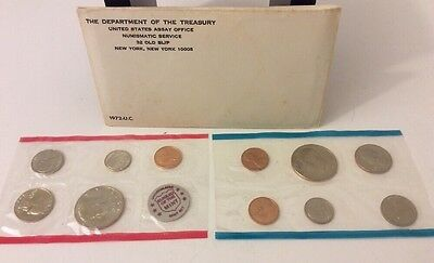 1972 P&D United States Mint Uncirculated 11 Coin Sets Lot Of 2 Original Sealed