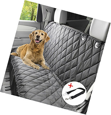 Winipet X-Large Dog Seat Cover- Dog Hammock- Travel Car Seat Cover- Rear Seat Pr