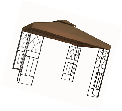 Kenley grc-250b 3 x 3 m 2-Tier Gazebo Pavilion Roof Top Canopy Replacement Cover