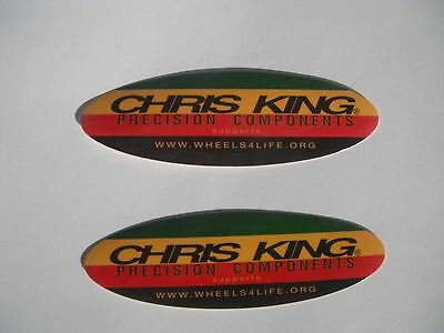 Chris King Bicycle Bike Components Stickers Decals Original Free Shipping!