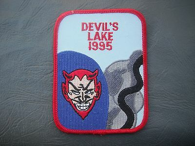 Devil's Devils Lake 1995 Patch Free Worldwide Shipping!!