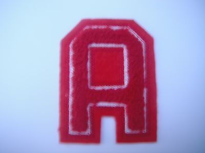 """Alternate Assistant Captain """"A"""" Patch Hockey Vintage Free Shipping Worldwide!!"""