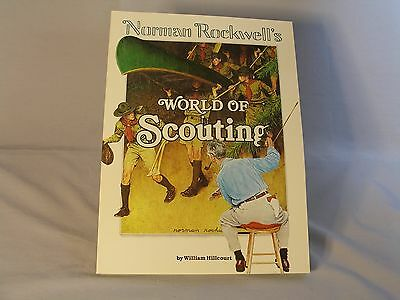 Norman Rockwell's World of Scouting Book by William Hillcourt New