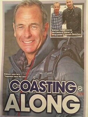 BIG TV Magazine 2017 Robson Green Photo Interview Chris Gascoyne Georgia Taylor