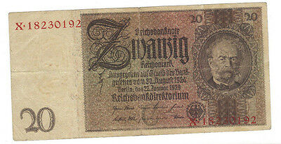 1929 German 20 Reichsmarks for only $5.97 BUY IT NOW!!