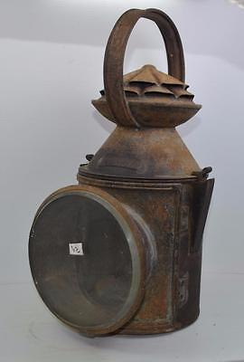 Rare Great Northern Railway Company signal lamp Ruskington No 6  Braintree ECT