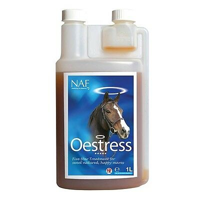 Naf Oestress Calm Horse Magnesium Brewers Yeast Moody Mare Worldwide Ship