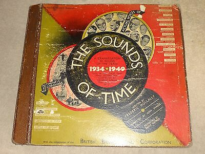 The Sounds Of Time 1934-1949 Eisenhower-Churchill-Ve Day-Nuremberg-Abdication