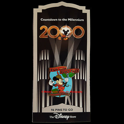Disney Store Countdown To The Millennium #97 Fun And Fancy Free Mickey Mouse Pin