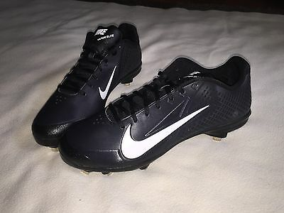 New Nike Zoom Vapor Elite Men's Metal Cleats Size 13 Baseball Shoes Black