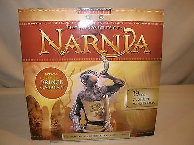 The Chronicles of Narnia Complete Series Audio Dramas on 19 CDs Radio Theatre