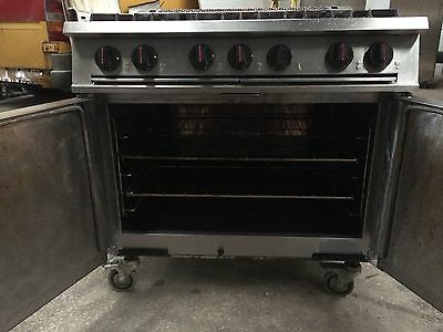 Falcon Dominator Commercial  6 Burner Gas Oven Blue Seal Cooker Catering Leeds