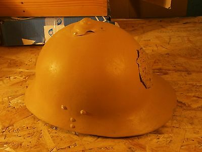 RARE ORIGINAL Imperial Russian Army WWI Sohlberg M17 Helmet from the ground