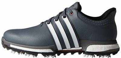 SALE - adidas TOUR 360 boost Golf Shoes | UK 9.5 EU 44 M Fit  | Onyx/White/Red